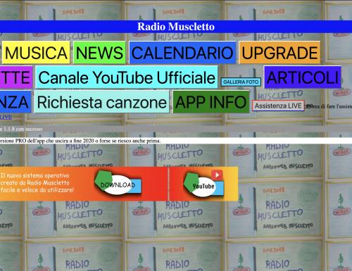 Radio Muscletto APP versione 1.1.8